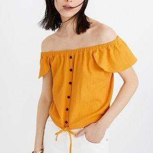 Madewell Texture & Thread Off-the-Shoulder…